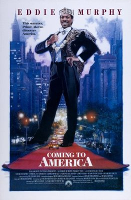 Coming To America movie poster (1988) poster MOV_d3cdb613