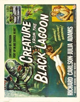 Creature from the Black Lagoon movie poster (1954) poster MOV_d3d25908