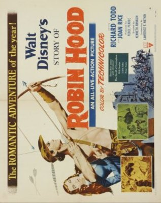 The Story of Robin Hood and His Merrie Men movie poster (1952) poster MOV_d3dd0b48