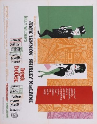 Irma la Douce movie poster (1963) poster MOV_d3df5fc1