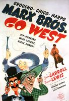 Go West movie poster (1940) picture MOV_d3e2a6b7