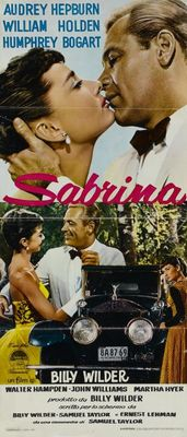 Sabrina movie poster (1954) poster MOV_d3e5f3ed