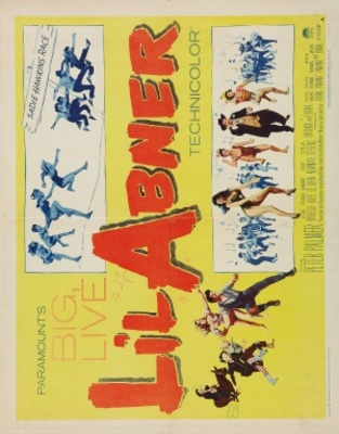 Li'l Abner movie poster (1959) poster MOV_d3f39a02