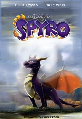 The Legend of Spyro movie poster (2009) poster MOV_d3ff0c69