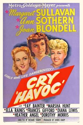 Cry 'Havoc' movie poster (1943) poster MOV_d4159b13