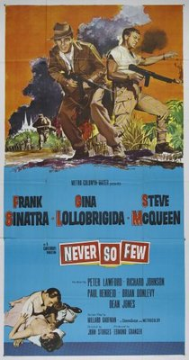 Never So Few movie poster (1959) poster MOV_d455913c