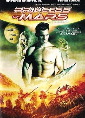 Princess of Mars movie poster (2009) poster MOV_d4568793