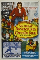 The Great Adventures of Captain Kidd movie poster (1953) picture MOV_d467f6f5