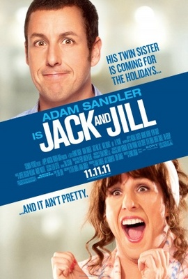 Jack and Jill movie poster (2011) poster MOV_d46f42bf