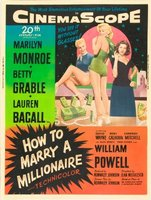 How to Marry a Millionaire movie poster (1953) picture MOV_d47a0d6e