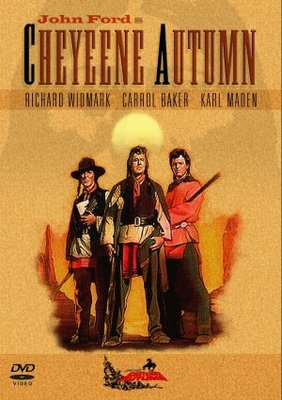 Cheyenne Autumn movie poster (1964) poster MOV_d4801296