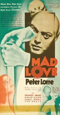 Mad Love movie poster (1935) poster MOV_d486b8f6