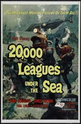 20000 Leagues Under the Sea movie poster (1954) poster MOV_d49d372f
