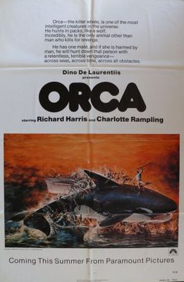 Orca movie poster (1977) poster MOV_d4a388e9