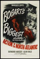 Action in the North Atlantic movie poster (1943) picture MOV_d4c072f1
