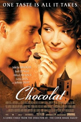 Chocolat movie poster (2000) poster MOV_d4d00655