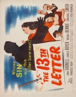 The 13th Letter movie poster (1951) picture MOV_d4d3acd5
