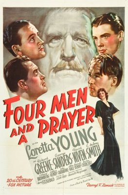 Four Men and a Prayer movie poster (1938) poster MOV_d4d43cc2