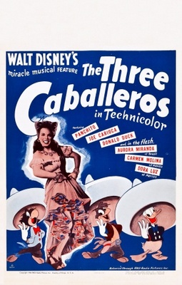 The Three Caballeros movie poster (1944) poster MOV_d4e719ed