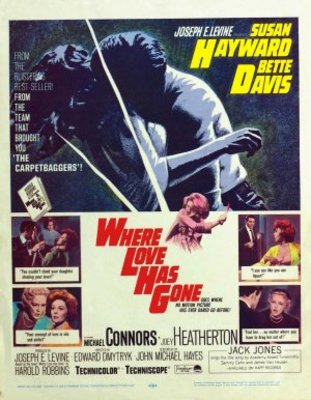 Where Love Has Gone movie poster (1964) poster MOV_d4e89f74
