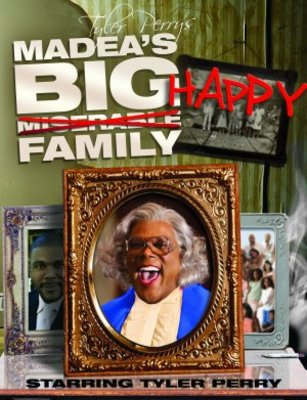 Madea's Big Happy Family movie poster (2011) poster MOV_d526f688