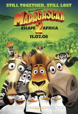 Madagascar: Escape 2 Africa movie poster (2008) poster MOV_d528bdb3