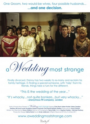 A Wedding Most Strange movie poster (2011) poster MOV_d52d5a1f