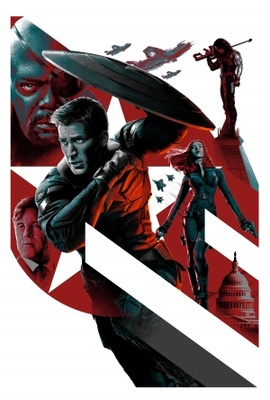 Captain America: The Winter Soldier movie poster (2014) poster MOV_d5535fcd
