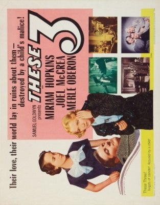 These Three movie poster (1936) poster MOV_d56b6916