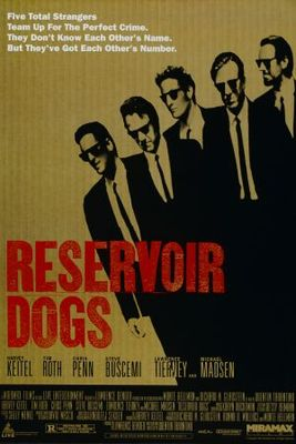 Reservoir Dogs movie poster (1992) poster MOV_d5700576