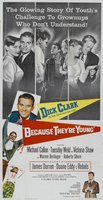 Because They're Young movie poster (1960) picture MOV_d5704b07