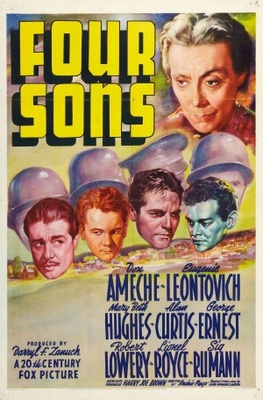 Four Sons movie poster (1940) poster MOV_d57a5d62