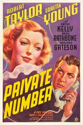 Private Number movie poster (1936) poster MOV_d58fa887