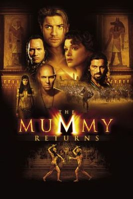 The Mummy Returns movie poster (2001) poster MOV_d5a540b2