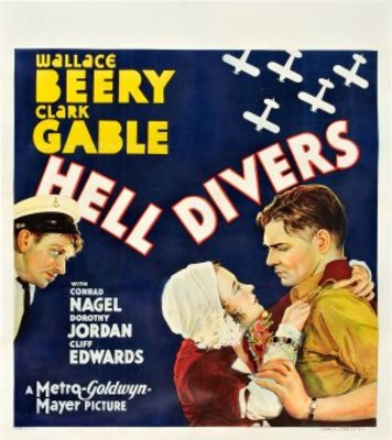 Hell Divers movie poster (1931) poster MOV_d5b9bac4