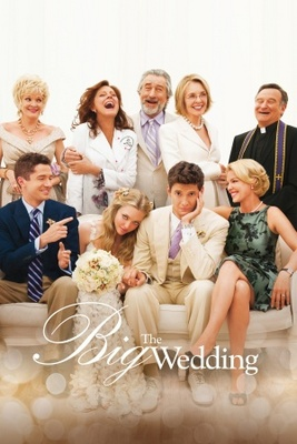 The Big Wedding movie poster (2012) poster MOV_d5c870d3