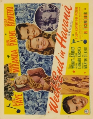 Week-End in Havana movie poster (1941) poster MOV_d5d109ad