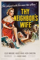 Thy Neighbor's Wife movie poster (1953) picture MOV_d5d1b20a