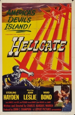 Hellgate movie poster (1952) poster MOV_d5df3842