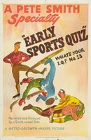 Early Sports Quiz: What's Your I.Q. No. 13 movie poster (1947) picture MOV_d61c3ca7