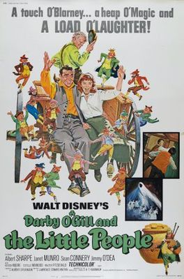 Darby O'Gill and the Little People movie poster (1959) poster MOV_d6280acb