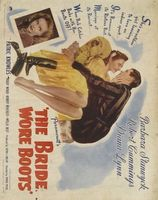 The Bride Wore Boots movie poster (1946) picture MOV_d62a4a63