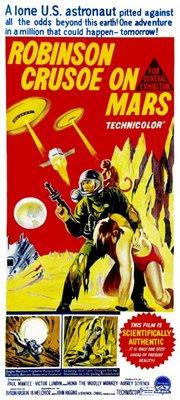 Robinson Crusoe on Mars movie poster (1964) poster MOV_d62af752