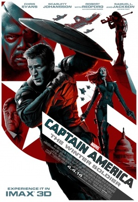 Captain America: The Winter Soldier movie poster (2014) poster MOV_d631a431