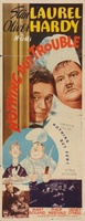 Nothing But Trouble movie poster (1944) picture MOV_d6396da1