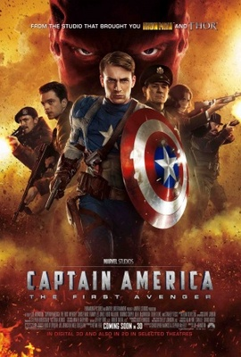 Captain America: The First Avenger movie poster (2011) poster MOV_d64ef9b9