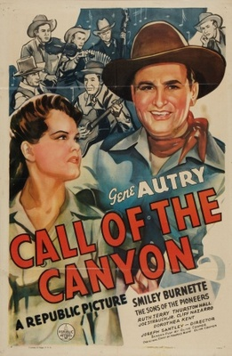 Call of the Canyon movie poster (1942) poster MOV_d65781c0