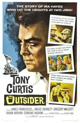 The Outsider movie poster (1961) poster MOV_d66862b4