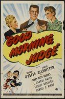 Good Morning, Judge movie poster (1943) picture MOV_d66cd4a9
