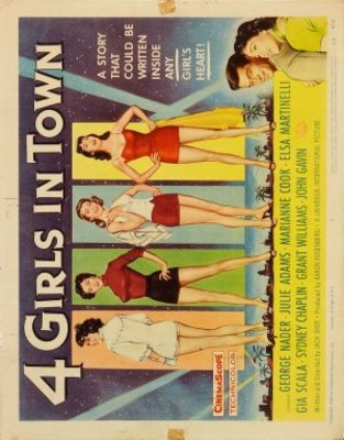 Four Girls in Town movie poster (1957) poster MOV_d676a209